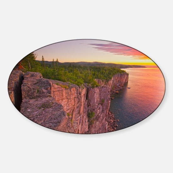 sunrise Sticker (Oval)