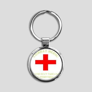 medic Round Keychain