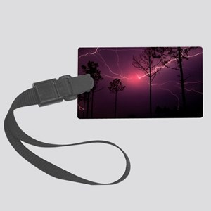 Lightning Large Luggage Tag