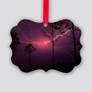 Lightning Picture Ornament