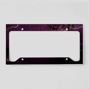 Lightning License Plate Holder