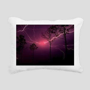 Lightning Rectangular Canvas Pillow