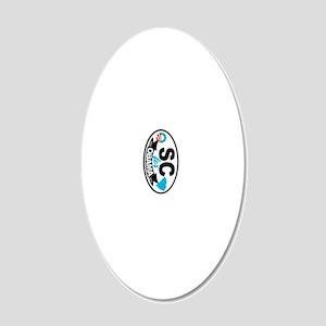 SCarolina-4-Obama-KC 20x12 Oval Wall Decal