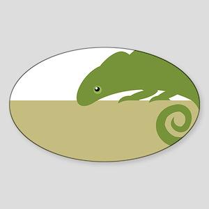 lizard Sticker (Oval)