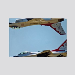 (15) Thunderbirds 5 and 6 Tail to Rectangle Magnet