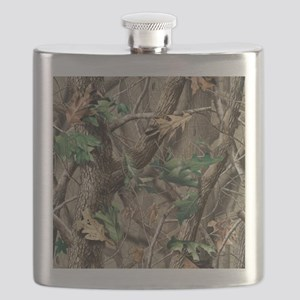camo-swatch-hardwoods-green Flask