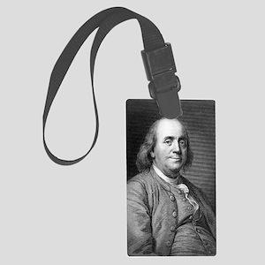Franklin-Benjamin-LOC Large Luggage Tag