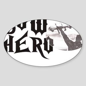 bowhero Sticker (Oval)