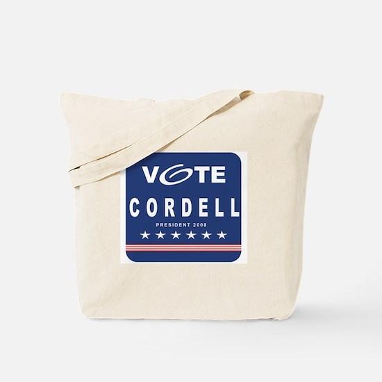 Vote Cordell Tote Bag
