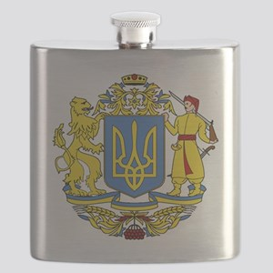 escudo_nacional_de_ucrania_10x10 Flask