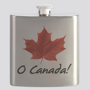 O-Canada-MapleLeaf-blackLetters copy Flask