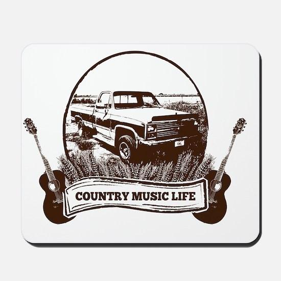 CML Trucks  Guitars Mousepad