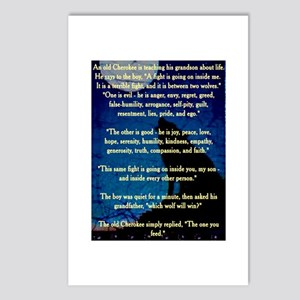 CHEROKEE LESSON Postcards (Package of 8)