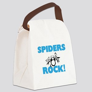 Spiders rock! Canvas Lunch Bag