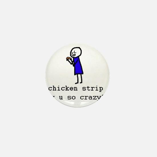 chicken strip Mini Button