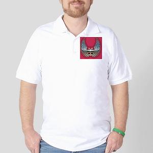 molly-chr-wing1-OV Golf Shirt