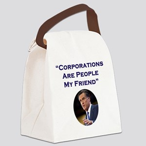 Romney Corporations Canvas Lunch Bag