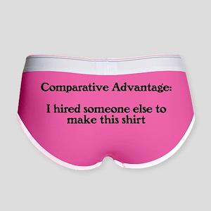 comparative-advantage_bg-light Women's Boy Brief