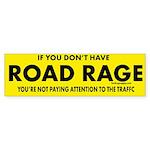 Road Rage Bumper Sticker