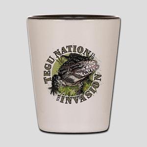 Tegu Nation Invasion Shot Glass