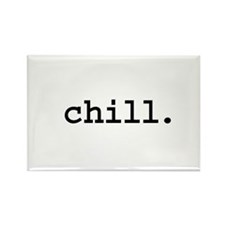 chill. Rectangle Magnet (100 pack)