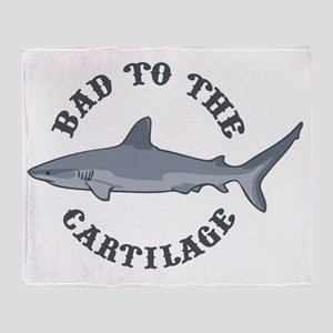 bad-to-cartilage-LTT Throw Blanket