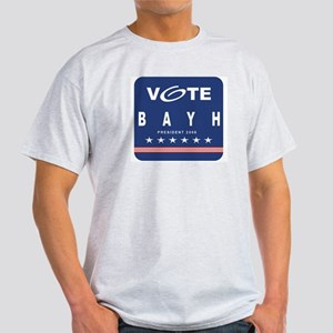 Vote Bayh Ash Grey T-Shirt