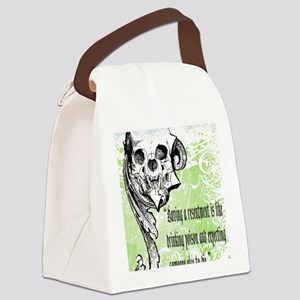 resentment Canvas Lunch Bag