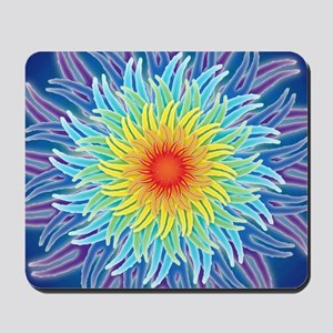 LaptopSkinsFlower7Chakras1 Mousepad