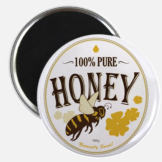 honey label 3 Magnet