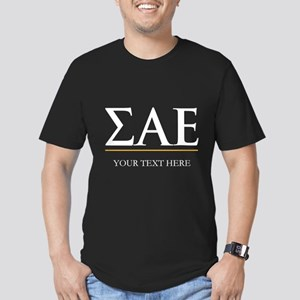 Sigma Alpha Epsilon Fr Men's Fitted T-Shirt (dark)
