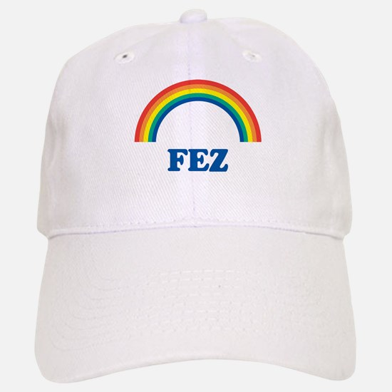 FEZ (rainbow) Baseball Baseball Cap