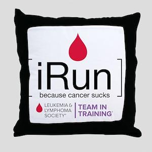 irun Throw Pillow