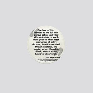 Scott Action Quote Mini Button