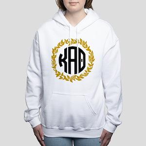 Kappa Alpha Theta Wreath Women's Hooded Sweatshirt