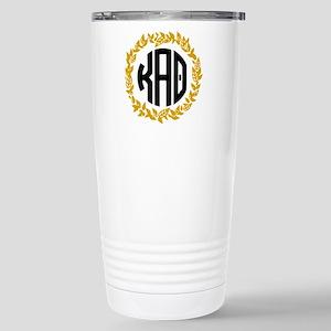Kappa Alpha Theta Wreat Stainless Steel Travel Mug