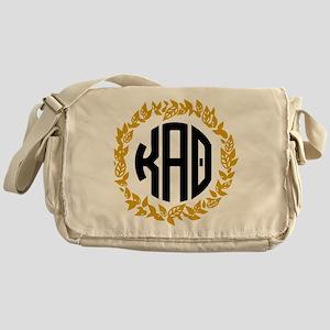 Kappa Alpha Theta Wreath Messenger Bag