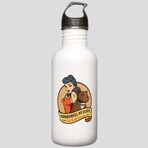 Large Pinup and dog lo Stainless Water Bottle 1.0L