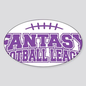FFL-purple Sticker (Oval)