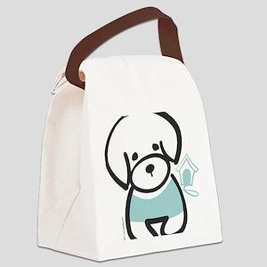bichon Canvas Lunch Bag