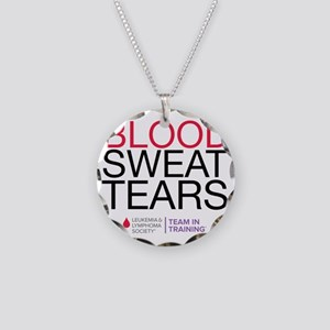 blood.sweat Necklace Circle Charm