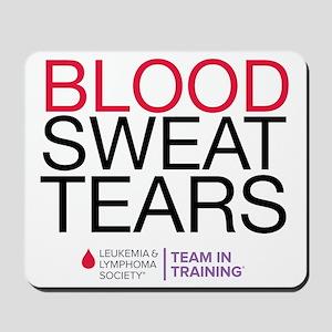 blood.sweat Mousepad