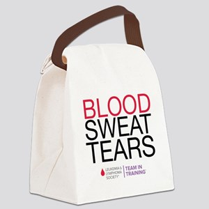 blood.sweat Canvas Lunch Bag
