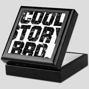 coolstorybrodistressedblack2 Keepsake Box