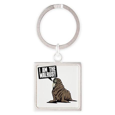 walrus Square Keychain