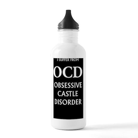 ocd3g black Stainless Water Bottle 1.0L