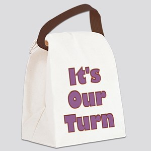 its-our-turn Canvas Lunch Bag