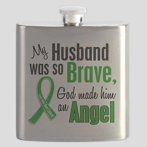 Angel 1 Husband Bile Duct Cancer Flask