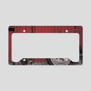 oltractor56 License Plate Holder