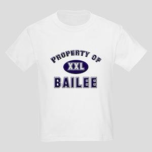 Property of bailee Kids T-Shirt